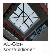 Aluminium-Glas Konstruktionen